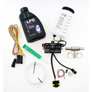 V Lube LPG / CNG Valve Saver Kit Elektronic Plus 10mm Weiche inkl. 500ml Fluid (Pumpe)