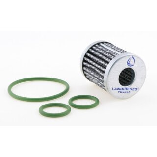 Lovato EasyFast Polyester Filter Gasphase (alte Nr 1294021) - inkl. Dichtungen